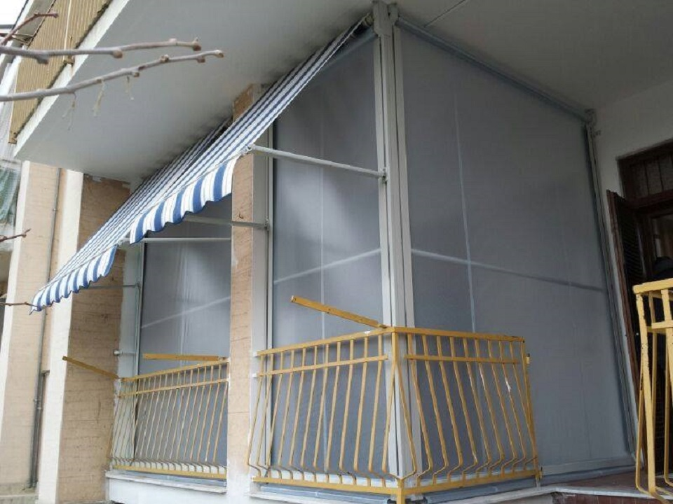 Tende Veranda Estate Inverno : Tenda veranda domino tende porte e finestre a torino
