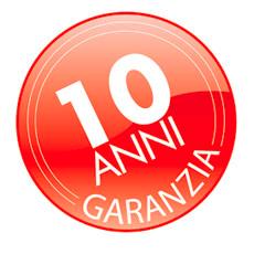 GARANZIA-10-ANNI PVC FIBRA DI VETRO